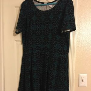 Lularoe Amelia Dress 3x👗
